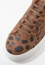 Pieces PSPAULINA  Sneakers basse cognac
