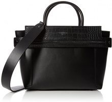 Fiorelli Abbey - Borse a mano Donna, Black (Black Croc Mix), 16.5x23x37 cm (W x H L)