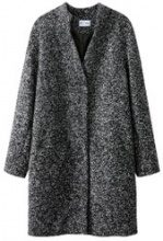 Cappotto chiné
