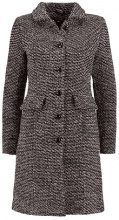 King Louie NATHALIE COAT ABERDEEN Cappotto invernale black