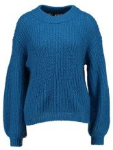 Topshop SLEEVE Maglione blue
