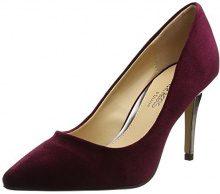 Head Over HeelsAlana - Scarpe col tacco punta chiusa donna , rosso (Red (Burgundy)), 36