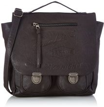 Frankie's GarageWorkers Bag - Borsa con Maniglia Uomo , marrone (Braun (darkbrown 020)), 34x30x13 cm (B x H x T)
