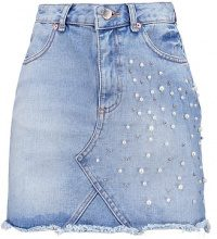 Miss Selfridge PEARL  Gonna di jeans mid denim