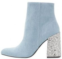 Shellys London HUGSY Stivaletti con tacco denim/glitter