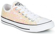 Scarpe Converse  CHUCK TAYLOR ALL STAR SEQUINS OX WHITE/BLACK/WHITE