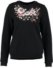 Dorothy Perkins EMBROIDERED  Felpa black