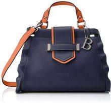Bulaggi Poussin Handbag - Borse a secchiello Donna, Blau (Dunkel Blau), 13x23x28 cm (B x H T)