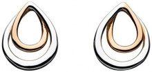 Kit Heath–Orecchini a perno con simbolo dell' infinito in argento Sterling, argento, colore: oro rosa, cod. 41341RG