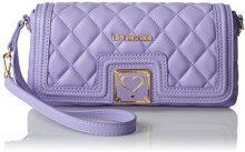 Love Moschino JC4003, Clutch Donna, Viola (Lavender), 5x14x28 cm (B x H x T)