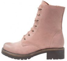 Cream CARLY BOOT Stivaletti con plateau old rose