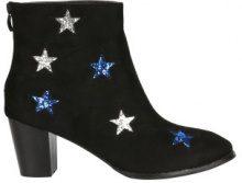Stivaletti con stelle glitter