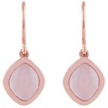 Ivy Gems Donna  925  argento Marquise   rosa Quarzo
