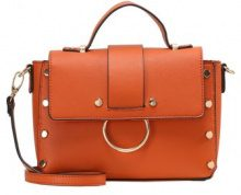 New Look OLIVIA ROUND METAL Borsa a mano orange