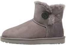 UGG MINI BAILEY BUTTON II Stivali da neve  grey