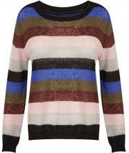 Coster Copenhagen Mohair Knit Top W, Maglione Donna, Multicoloured (Multi Colour Stripe), 44