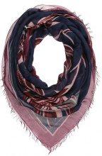 Patrizia Pepe Foulard blu/red embroidery