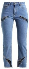 Liquor N Poker LAX MOM JEAN WITH EYELET  Jeans baggy stonewash