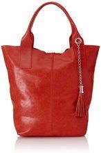 Chicca Borse 5190I Borsa Tote, 39 cm, Rosso