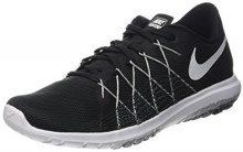 Nike Flex Fury 2, Scarpe da Trail Running Donna, Nero (Black/White-Wolf Grey-Dark Grey), 36 EU