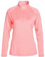 Puma CORERUN Tshirt sportiva soft fluo peach heather