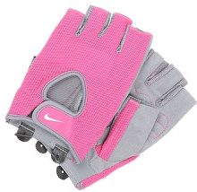 Nike Performance FUNDAMENTAL  Guanti mezze dita vivid pink/cool grey/white