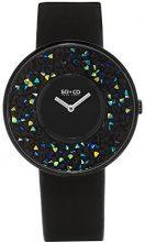 So & Co New York - Orologio da polso, Donna, Analogico, cinturino in tessuto nero