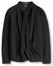 ESPRIT Collection 096EO1F007, Camicia Donna, Nero (BLACK), 34