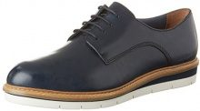 Tamaris 23202, Scarpe Stringate Basse Oxford Donna, Blu (Navy Leather 848), 39 EU