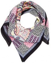 Rock Angel Power Paisley 90 x 90, Scialle Donna, Mehrfarbig (Multi Sorbet 905), 6
