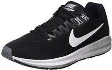 Nike W Air Zoom Structure 21, Scarpe Running Donna, Nero (Black/Wolf Grey/Cool Grey/White 001), 37.5 EU