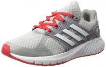 adidas Duramo 8W, Scarpe Running Donna, Grigio (Clear Grey/Ftwr White/Core Pink), 44 2/3 EU