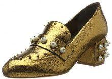 SchutzWomen Shoes - Scarpe con Tacco Donna, Oro (Gold (Bronze)), 38