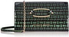 Armani Jeans Shoes & Bags De - B5229V3, Frizione da donna, verde (verde - green 86), 25x14x4 cm (B x H x T)
