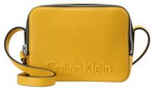 Calvin Klein EDGE SMALL  Borsa a tracolla yellow