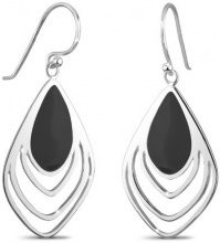 Elli 03201463 - Orecchini pendenti da donna, argento sterling 925