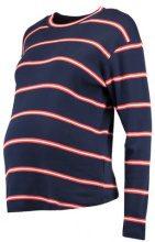 Topshop Maternity STRIPE Maglietta a manica lunga navy