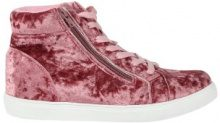 Sneakers alte vellutate