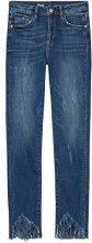 FIND Jeans ncon Orlo Sfrangiato Donna, Blu (Dk Blue), W30/L32 (Taglia Produttore: Medium)