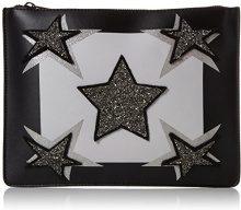 Juicy by Couture Monterey - Pochette da giorno Donna, Black (Black Deboss), 2.5x20x27 cm (W x H L)
