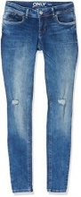 ONLY Onlcoral Slsk Dnm Jeans Rea15051 Noos, Donna, Blu (Medium Blue Denim), W32/L32 (Taglia Produttore: 32)