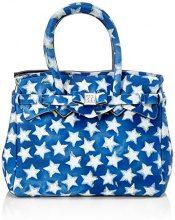 Save My Bag Petite Miss, Borsa a Mano Donna, Blu (Stars), 26x23x13 cm (W x H x L)