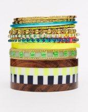 ASOS - Rio Ready - Confezione di braccialetti