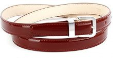 Anthoni Crown A1406L, Cintura Donna, Rot (Dunkelrot 060), 105