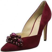 HÖGLAriana - Scarpe col tacco punta chiusa donna , rosso (Red (Raspberry)), 36