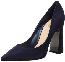 SebastianS7397 - Scarpe con Tacco Donna , blu (Blau (Blue)), 38