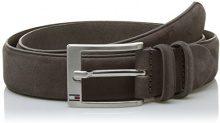 Tommy Hilfiger Houston Belt 3.5 ADJ, Cintura Uomo, Beige (Taupe), 105 cm (Taglia Produttore: 105)