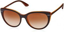 Vogue VO2941S 227913, Occhiali da Sole Donna, Mehrfarbig (Top Brown/Orange Transparent 227913), Taglia Unica