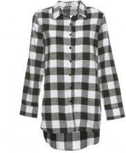 Camicia oversize a quadri