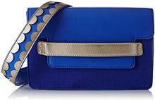 Lollipops Bcity Shoulder - Borse a spalla Donna, Blu (Blue), 6x19x26 cm (W x H L)